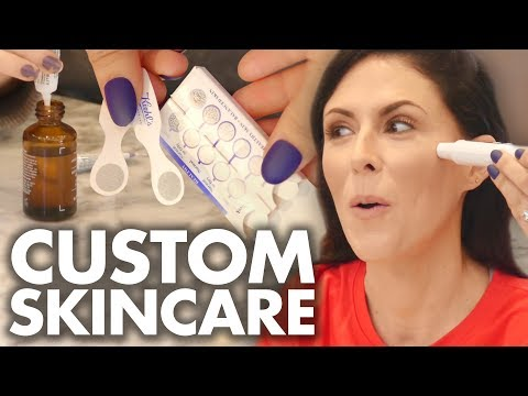 Making Our Own CUSTOM Skin Care Serum!! (Beauty Trippin)