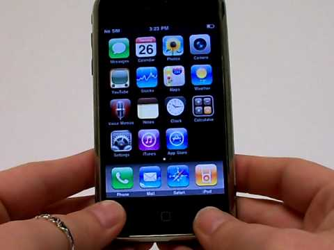 Iphone 3Gs 3G 2G Erase Cell Phone Info - Delete Data - Master Clear Hard Reset