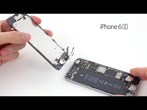 iPhone 6S LCD skärmbyte / glass byte / replacement / change