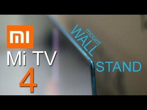 Mi Xiaomi Mi LED Smart TV 4 Wall Mount, Speaker, Display