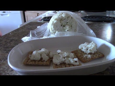 Super Simple Quick and Easy Goat Cheese