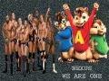 Chipmunks Sing WWE Nexus theme FULL