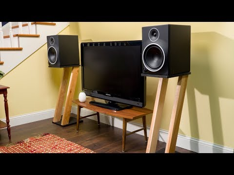 How To Build Speaker Stands - Saturday Morning Workshop