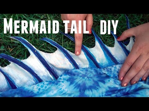 How to make a mermaid tail DIY