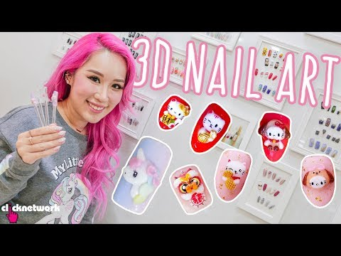 How To Do 3D Nail Art - Xiaxue's Guide To Life: EP214