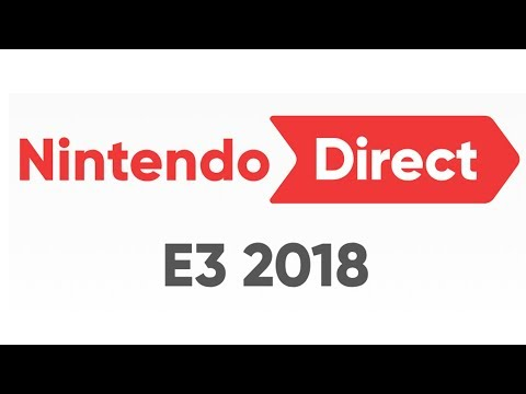 Nintendo Direct - E3 2018 | LIVE Reactions With Abdallah!