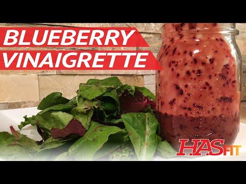 Easy Blueberry Vinaigrette Recipe - Healthy Salad Recipe and Dressing Recipes