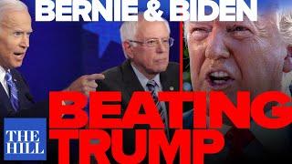 Panel: New poll Bernie and Biden beat Trump