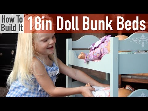 DIY 18in Doll Bunk Beds
