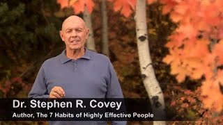Weekly Planning- A Video from The 7 Habits of Highly Effective People