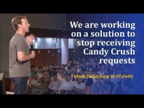 Mark Zuckerberg Promises To Stop Candy Crush Invites