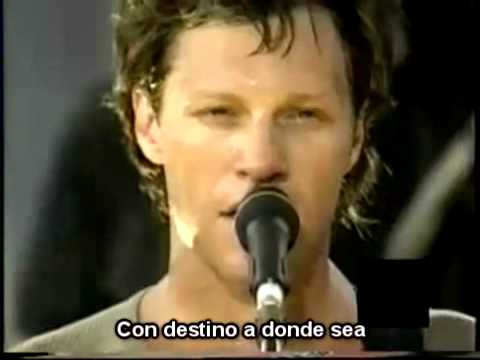 Destination Anywhere - Jon Bon Jovi (Subtitulado Subtítulos Español)