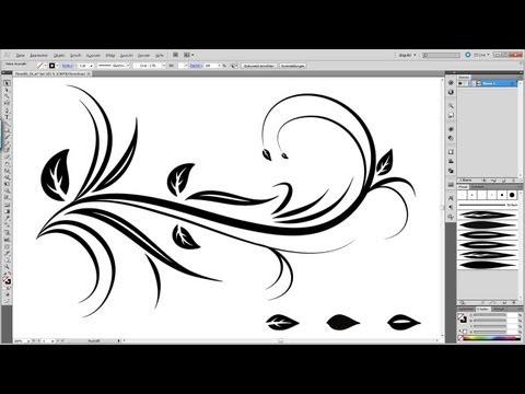 Swirl Floral Tutorial Illustrator