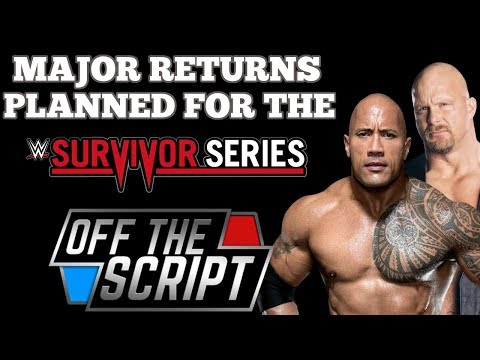 Two MAJOR NAMES Being Considered For Special Referee at Survivor Series - Off The Script #193 Part 1