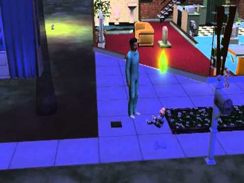 The Sims 2- Toddler changes clothes WEIRDLY!