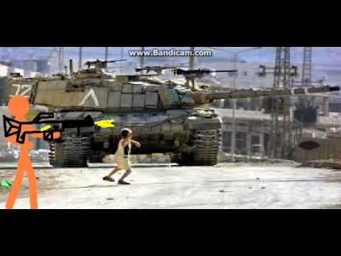 Soldier in israel defending the left flak! (Test animation)