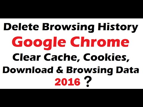 how to delete browsing history on google chrome 2016 | The permanent solution