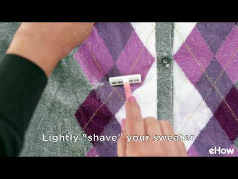 Get Rid of the Dreaded Pilling From Your Clothes