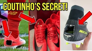 THE REAL REASON WHY COUTINHO CUTS HOLES IN HIS FOOTBALL BOOTS!