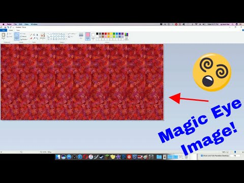 How to make a Magic Eye poster in MS Paint!