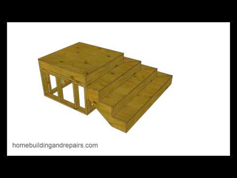 How to Build and Frame Stairs with Odd Shapes – Book Example 1
