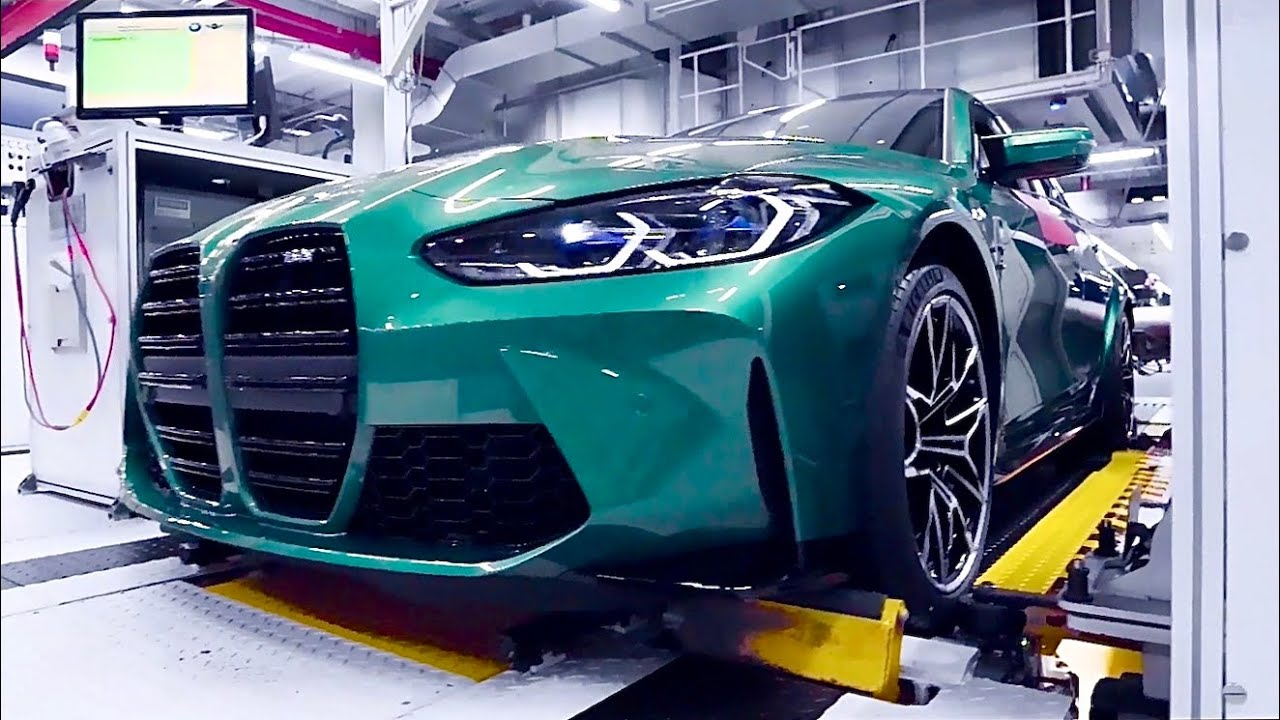 New BMW M3 2021 - PRODUCTION plant in Germany (this is how it's made), RELEASE DATE & PRICE
