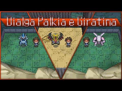 Detonado pokemon Volt White 2 - part 87 - Dialga, Palkia e Giratina!