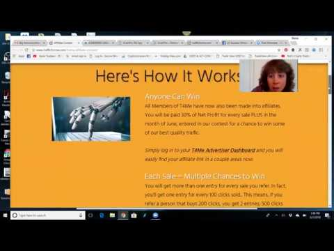 Traffic 4 Me New Affiliate Program and Contest