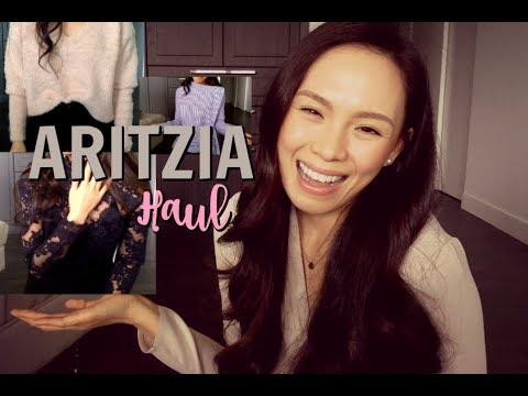 ARITZIA TRY-ON HAULl | Autumn 2017