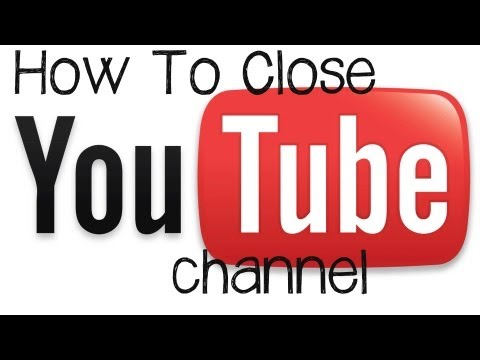 Youtube Tutorial - How To Delete or Close A Youtube Channel