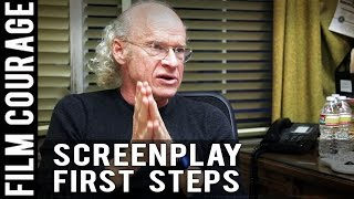 First Step In Writing A Screenplay By Ucla Professor Richard Walter