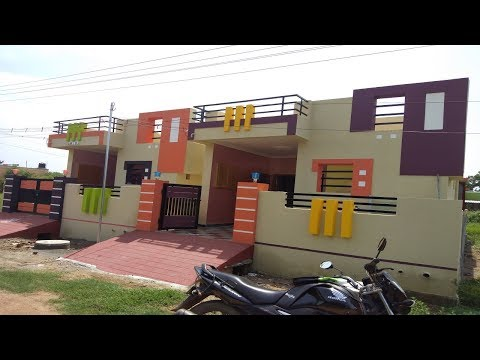 2 Bhk Independent house for Sale at Veppampattu, Chennai  With Marbles Flooring Ph - 9042279132
