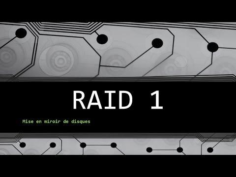 Windows miroir de disques Raid1
