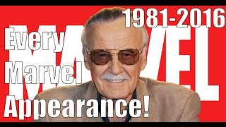 Every Stan Lee Marvel Appearance 1981 2016