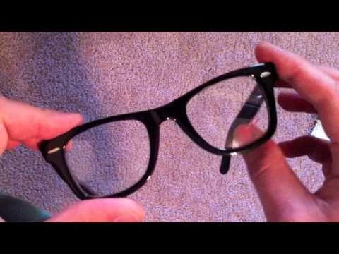Unboxing: Ray-Ban Wayfarer Optical Glasses