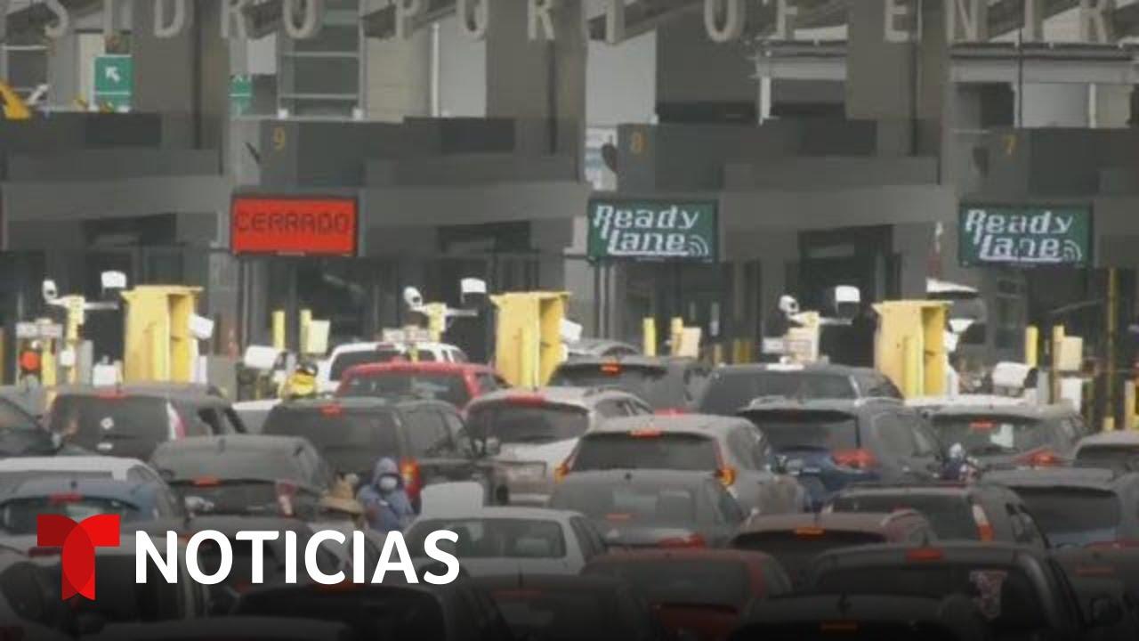 Cierre fronterizo tiene varias ciudades de EE.UU. asfixiadas   Noticias Telemundo