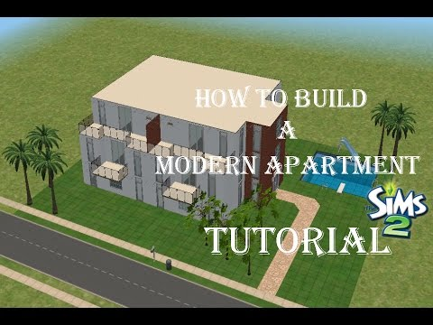 The Sims 2 - How To Build A Modern Apartment