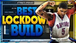 NBA 2K17 BEST LOCKDOWN DEFENDER BUILD | Daikhlo