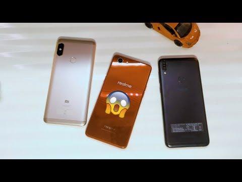 Realme 1 vs Redmi Note 5 Pro vs Zenfone Max Pro ULTIMATE Camera Comparison!