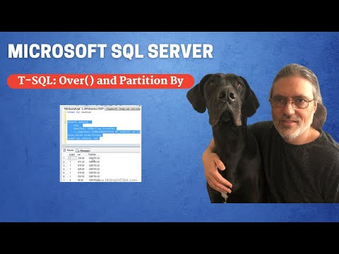 T-SQL: Over() and Partition By