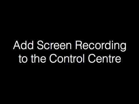 Setup Control Centre on iPad for Screen Mirroring to Smart TVs
