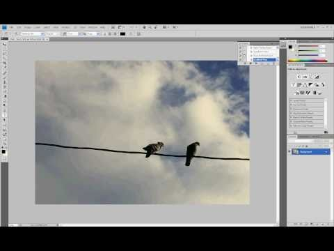 Click Click! 025: How to create a watermark in Photoshop CS4?