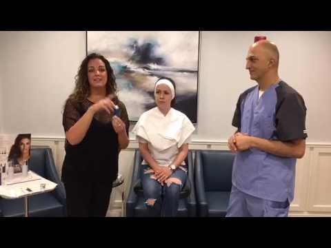 Dr. Newman and Yolanda Halston talk about Jeunesse NV Airbrush BB perfecting mist system