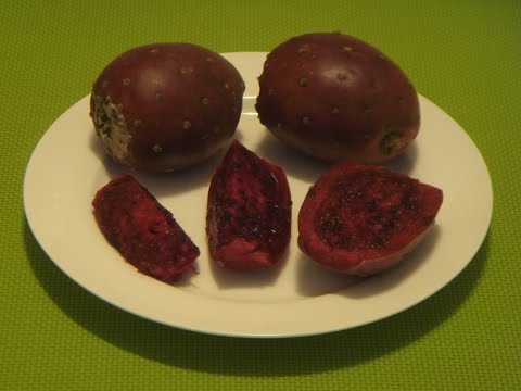 How to Eat Prickly Pear, Cactus Pear, Cactus Fruit