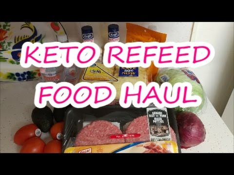 KETO GROCERY HAUL   KETOGENIC DIET   REFEED