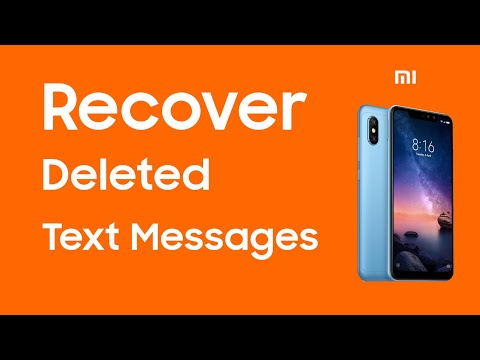 How to Recover Deleted SMS Messages on Xiaomi Redmi Note ?