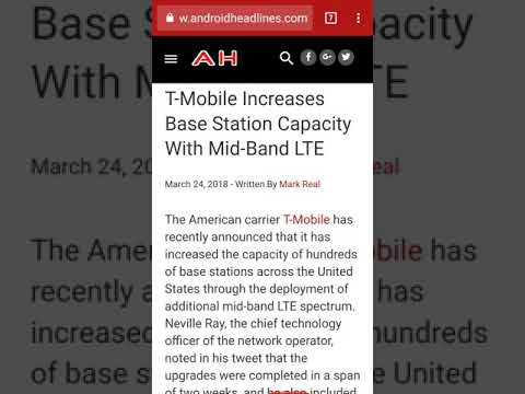 T-Mobile with massive upgrades, AT&T to grow in Q1.