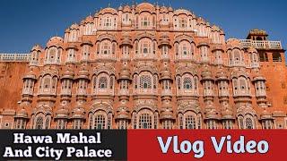 #2 - Vlog - Hawa Mahal, City Palace   Jaipur Rajasthan  Sameer Verma Official   Pink City  