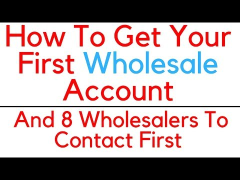 How to Find Get Your First Wholesale Account Ever As An Amazon Seller