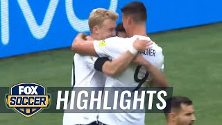 Lars Stindl scores early for Germany against Australia | 2017 FIFA Confederations Cup Highlights